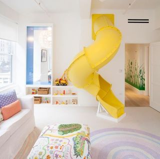 studio db design of a kids room with a slide