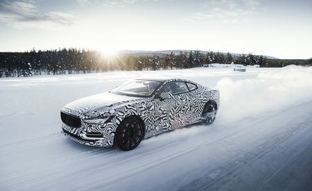 She's a Star: 2020 Polestar 1 Tests on the Ice
