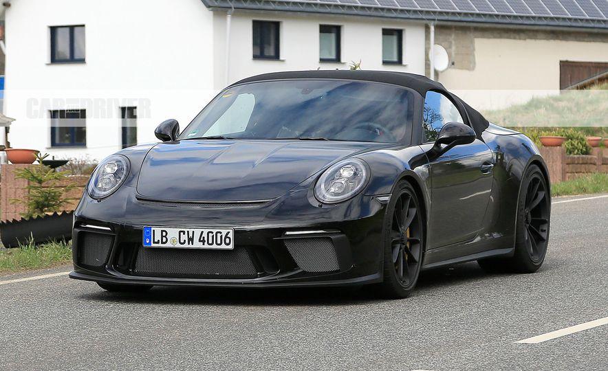 Porsche 911 Speedster (spy photo) - Slide 2