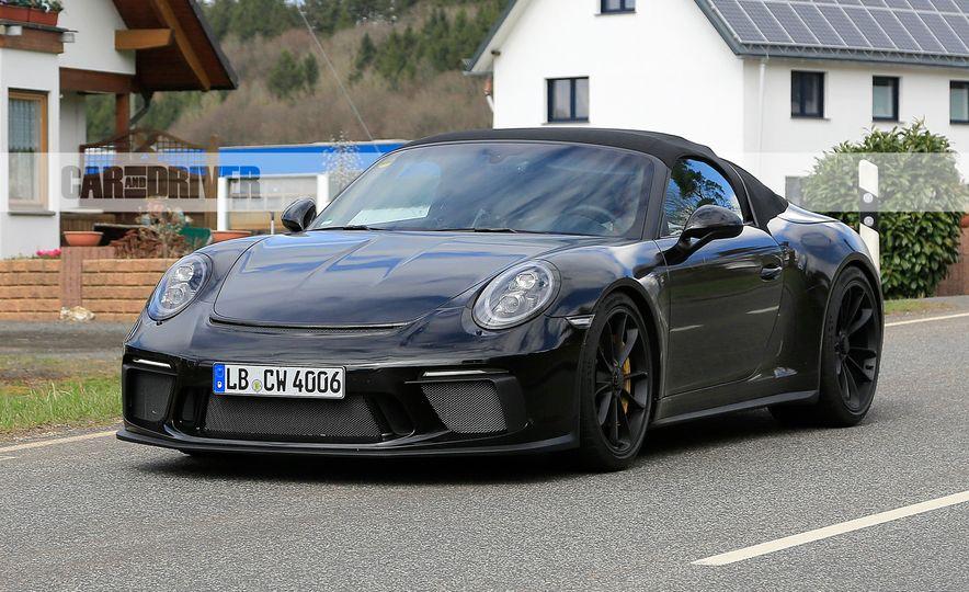 Porsche 911 Speedster (spy photo) - Slide 3