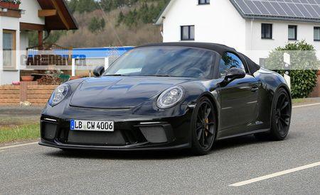 Do the Humpty Hump! Porsche 911 Speedster Spied