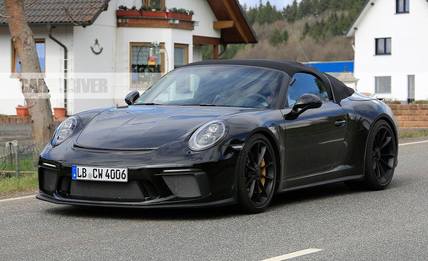 Porsche 911 Speedster (spy photo) - Slide 4