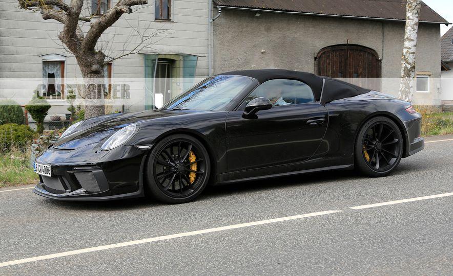 Porsche 911 Speedster (spy photo) - Slide 5