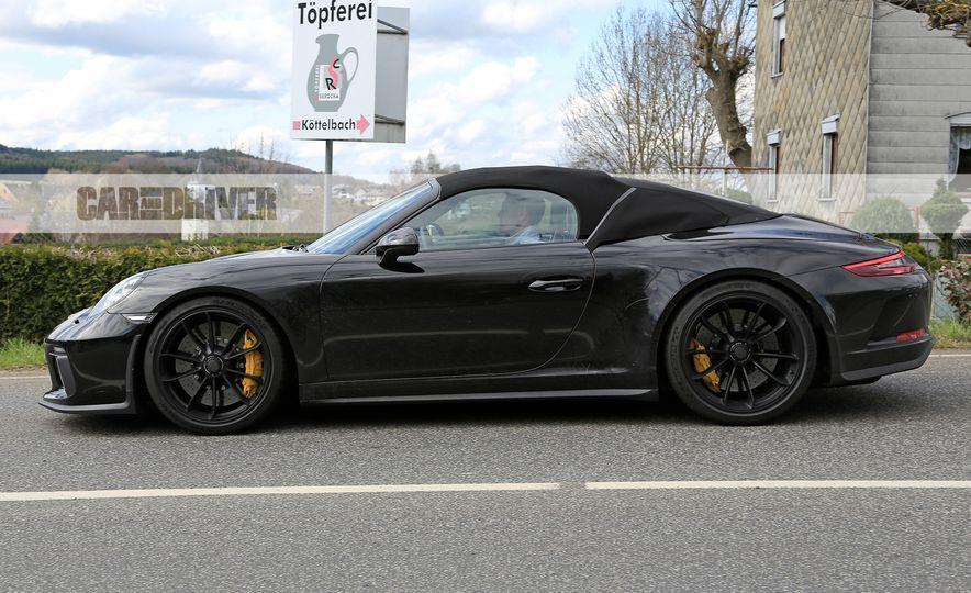 Porsche 911 Speedster (spy photo) - Slide 6