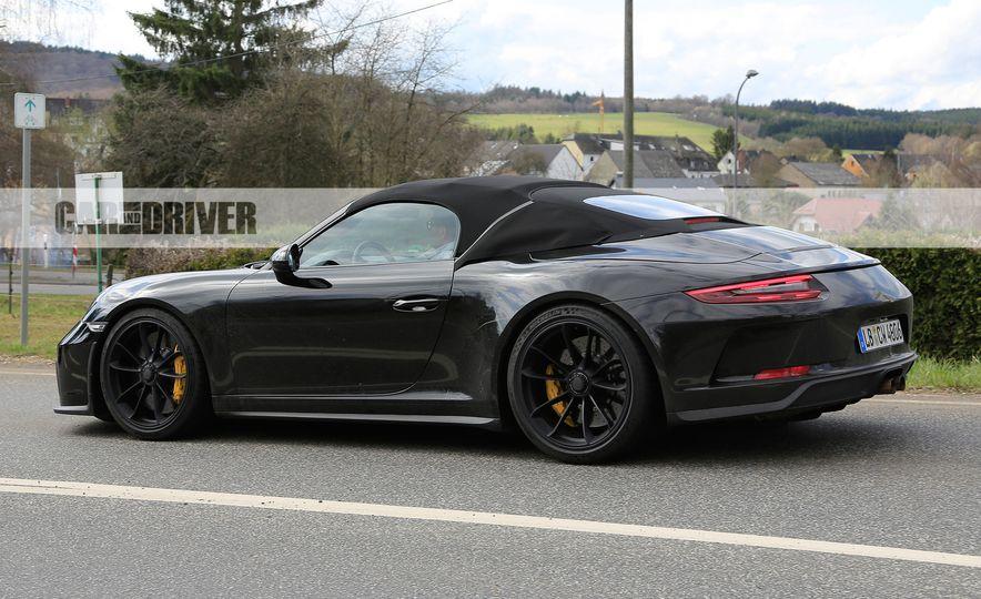 Porsche 911 Speedster (spy photo) - Slide 7