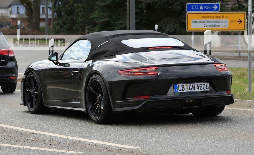 Porsche 911 Speedster (spy photo) - Slide 9