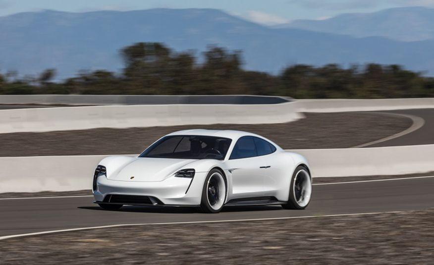 Call It Taycan: Porsche's Mission E Concept Gets Its Production Moniker