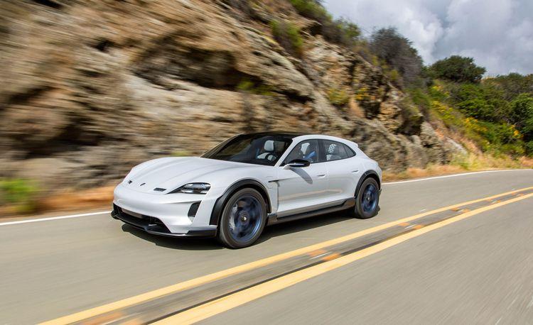 Cross Training: We Drive the Porsche Mission E Cross Turismo Concept