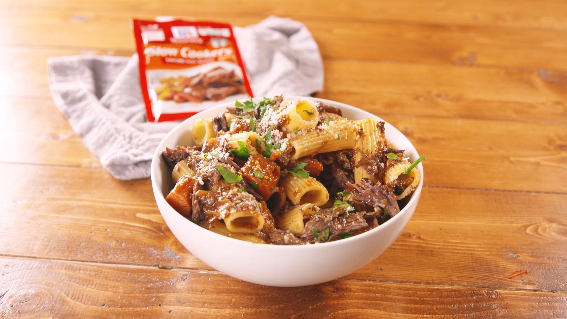 Best Pot Roast Pasta Recipe - How To