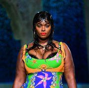 versace runway  milan fashion week springsummer
