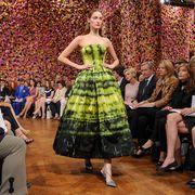 christian dior front row   paris fashion week haute couture fw 2013