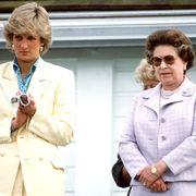 diana   queen at polo
