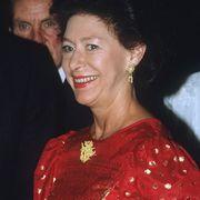 princess margaret in 1985
