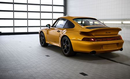 Porsche Just Built a Brand-New Air-Cooled 911 Turbo S