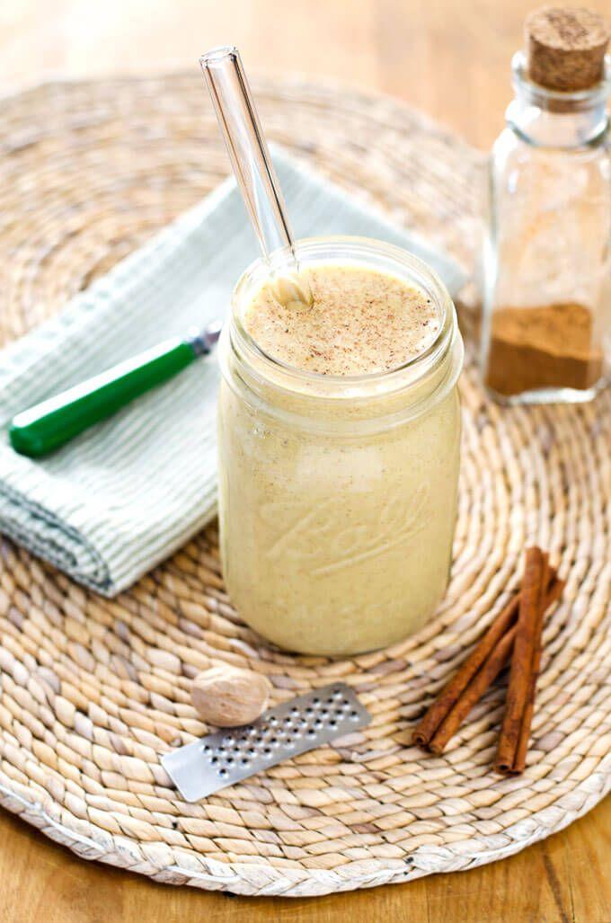 paleo pumpkin coconut smoothie