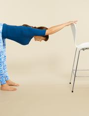 Upper Back Stretch - Thoracic Stretch