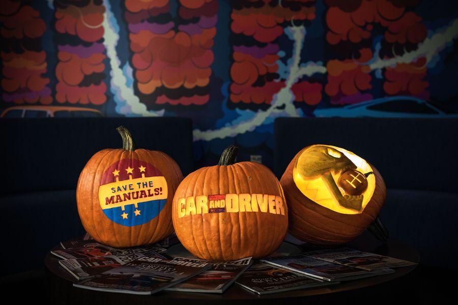 Carve Your Own Car Pumpkins