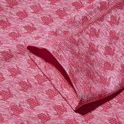 Pink, Magenta, Pattern, Textile, Design, Woven fabric, Pattern, Linen, Shorts, Collar,