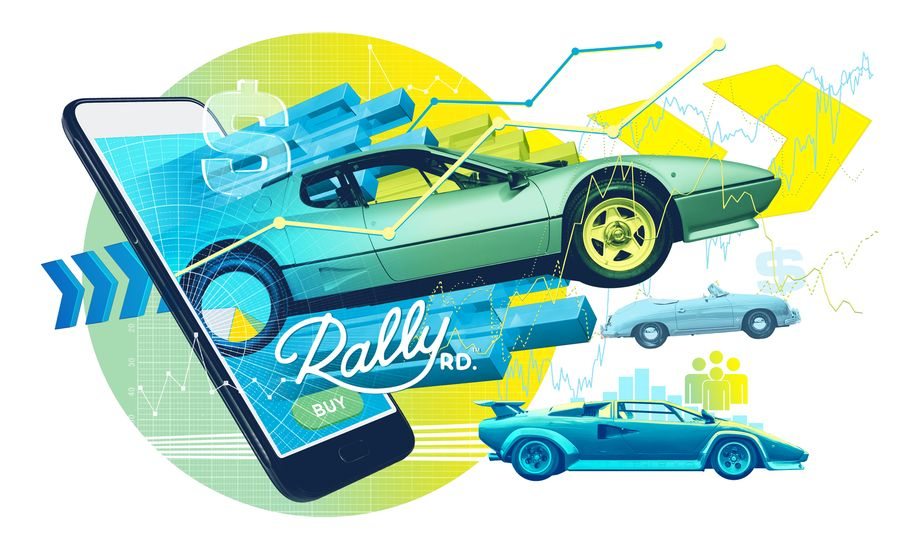 This Smartphone App Lets Enthusiasts Buy and Sell Shares in Classic Cars