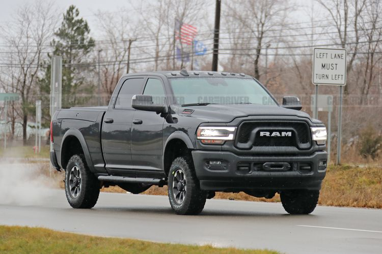 2020 Ram Power Wagon 2500 Pickup Spied in Its Birthday Suit