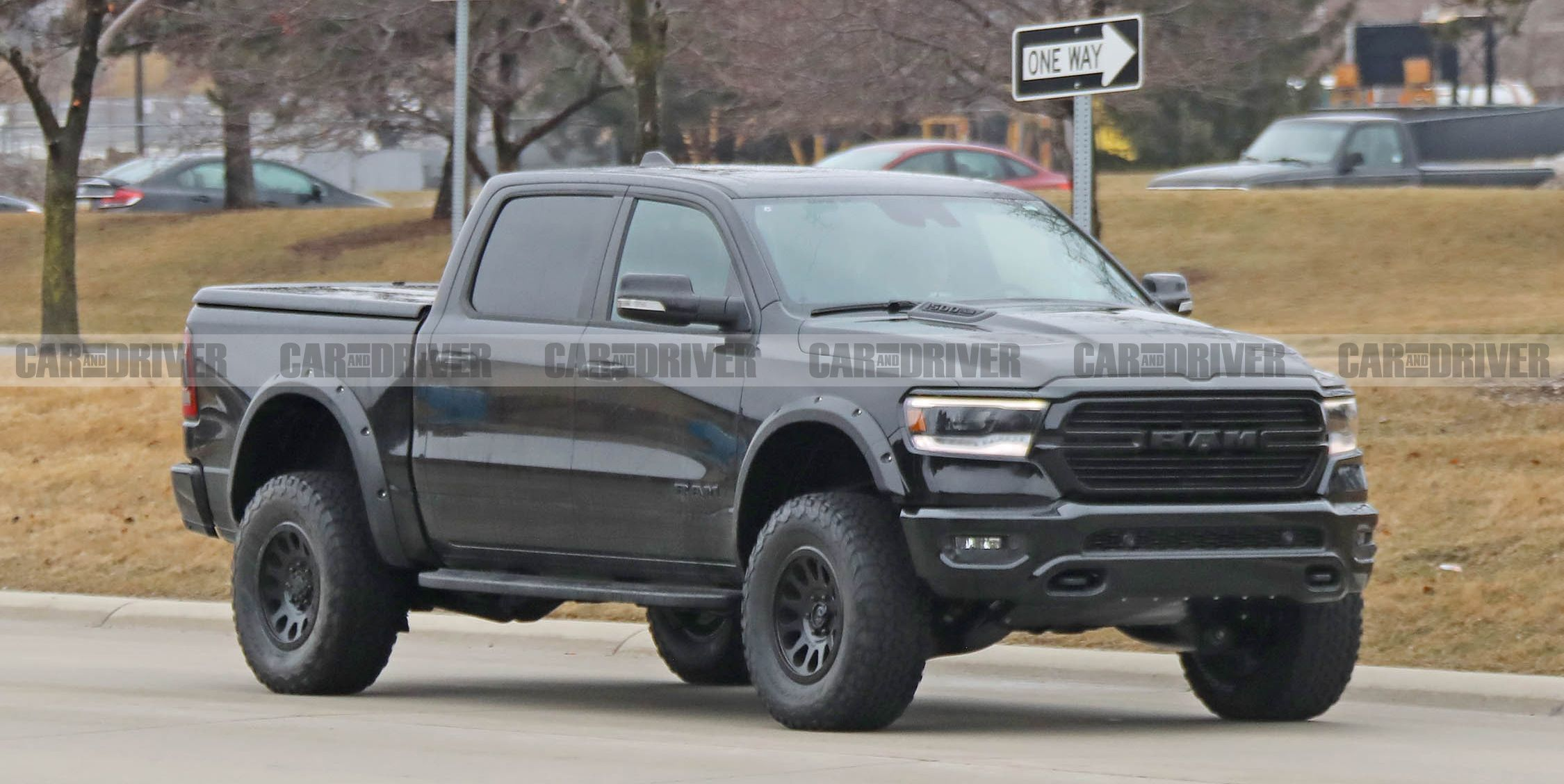 Ram Rebel TRX Pickup Inches Closer to Reality, Supercharged Hellcat V-8 Likely