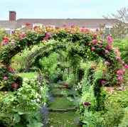 Kathy Rayner's East Hampton garden