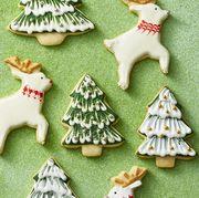 Reindeer and Christmas Tree Cookies