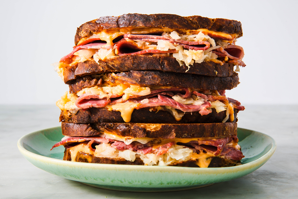Best Reuben Sandwich Recipe How To Make Reuben Sandwich