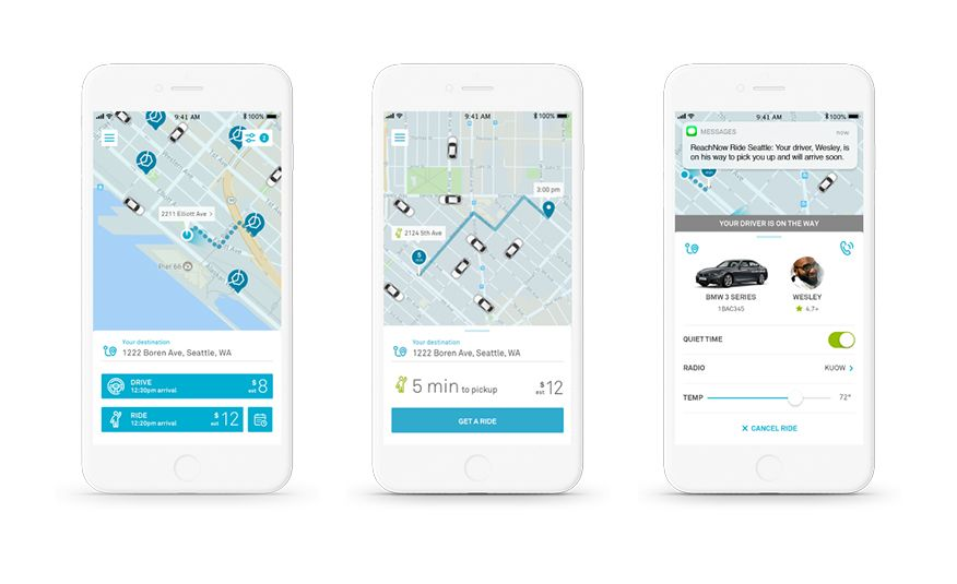 Ride or Drive? BMW's ReachNow App Now Does It All