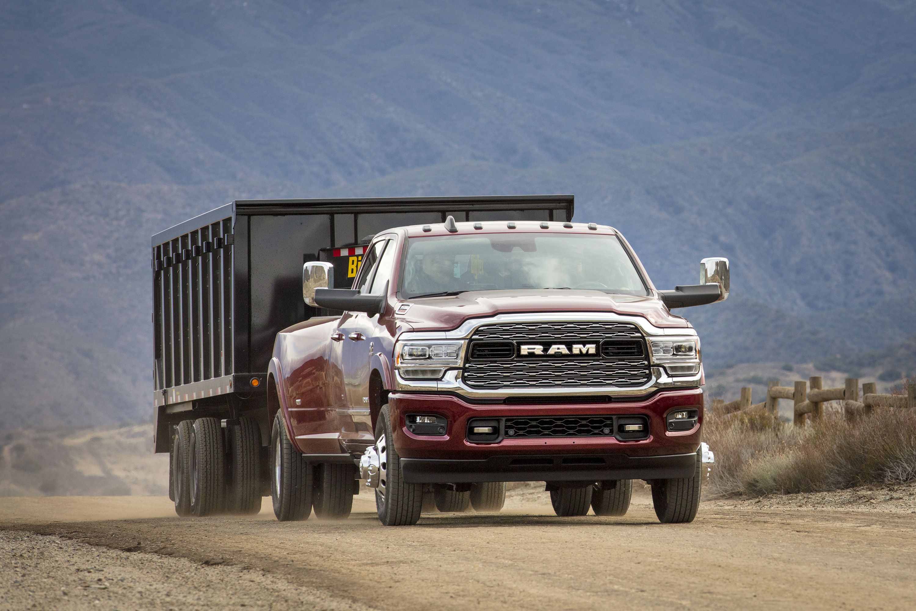 The 2019 Ram 2500 And 3500 Deliver A 1000 Lb Ft Warhead To