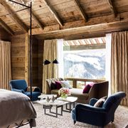 ski home with romantic bedroom view