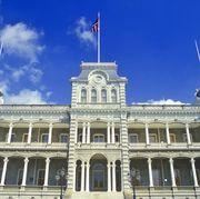 """royal palace, the iolani palace, honolulu, hawaii"""