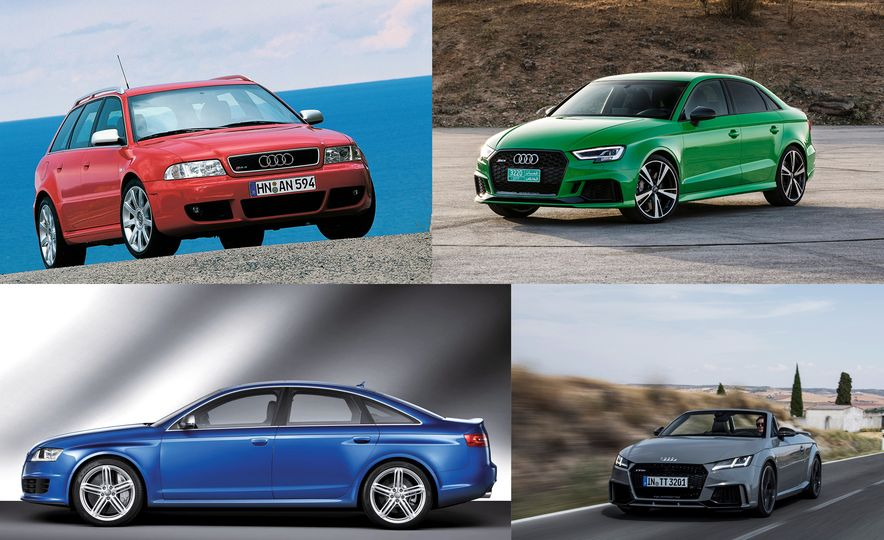 A Visual History of Audi's High-Performance RS Models - Slide 1