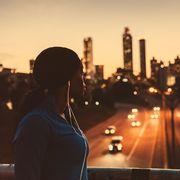 Sky, Urban area, City, Metropolitan area, Light, Night, Skyline, Beauty, Human settlement, Cityscape,