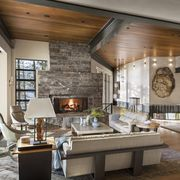 Room, Living room, Interior design, Ceiling, Building, Property, Furniture, Beam, Home, House,