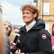filming of netflix series outlander takes place in glasgow