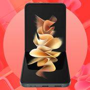 samsung galaxy z flip3 smartphone
