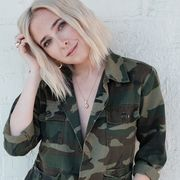 Military camouflage, Clothing, Military uniform, Pattern, Military, Camouflage, Jacket, Uniform, Blond, Outerwear,