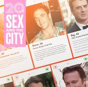 Sex and the City Tinder Profiles