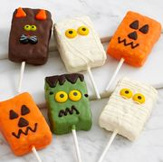 Yellow, Marshmallow, Snack, Food, Confectionery, Comfort food, Orange, Candy corn, Finger food, Candy,