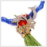 slumberger fish necklace