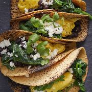 30 minute dinners scrambled egg tacos