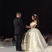 Gown, Wedding dress, Dress, Bride, Photograph, Bridal clothing, Fashion, Event, Formal wear, Beauty,