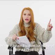 Madelaine Petsch Reads Riverdale Fan Theories