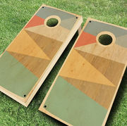 Cornhole, Games, Lawn game, Recreation, Wood, Washer pitching, Plywood,