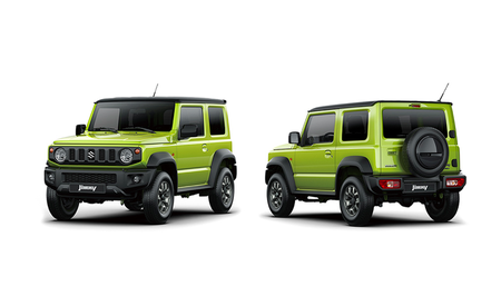 The New Suzuki Jimny Is the Tiny, Body-on-Frame 4x4 Box We Want