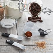Food, Measuring cup, Spoon, Cuisine, Cocoa solids,
