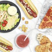 Dish, Food, Cuisine, Junk food, Meal, Fast food, Ingredient, Brunch, Food group, Breakfast,