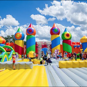 The World's Biggest Bouncy house summer tour