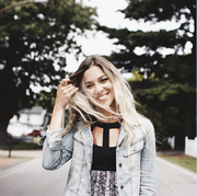 Hair, Street fashion, Photograph, Clothing, Blond, Beauty, Lip, Fashion, Snapshot, Outerwear,